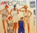 McCall's 3657 B