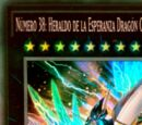 Número 38 Heraldo de la Esperanza Dragón Galaxia Titánica