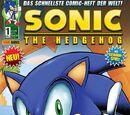Panini Sonic the Hedgehog Issue 1