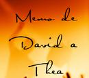 Memo de David a Thea