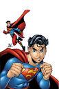 Sins of Youth Superman Jr and Superboy Sr Vol 1 1 Textless.jpg
