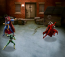 Chthon Scarlet Witch & Modred the Mystic vs. Quicksilver & Dr. Strange Heroic Battle
