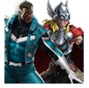 Blue Marvel and Thor (Jane Foster) Spec Op Reward Icon.png