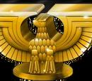 Art Deco Eagle Shelf