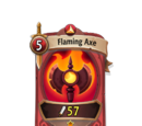 Flaming Axe