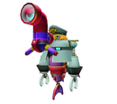 Sonic Colors (Wii) models