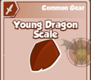 Young Dragon Scale