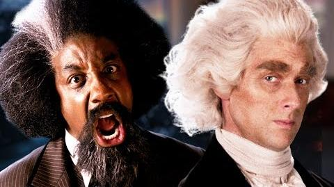 Frederick Douglass vs Thomas Jefferson