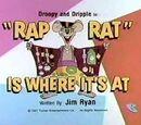 Rap Rat is Where It's At
