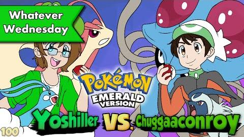 Pokemon Emerald - Yoshiller VS. Chuggaaconroy!