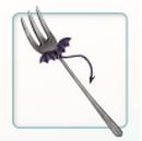 Baby Satan Fork (DQH2 DLC).png