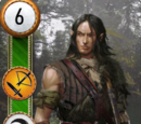 Yaevinn (gwent card)