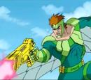 Vulture's laser gun