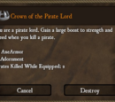 Crown of the Pirate Lord