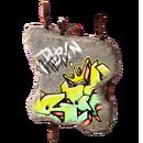 Trinket - Classy Art Hole - Graffiti Bite.png