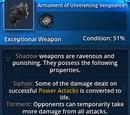 Armament of Unrelenting Vengeance