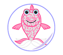 Lil'Kinz Pink Glitter Fish