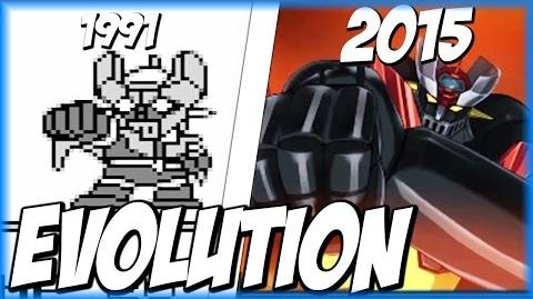 Evolution of ROCKET PUNCH (1991-2015) ロケットパンチ SRW