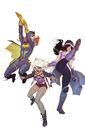 Batgirl and the Birds of Prey Rebirth Vol 1 1 Textless Variant.jpg