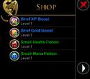 Menu Shop