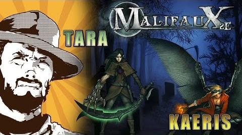 FFH Играем Malifaux Tara vs Kaeris