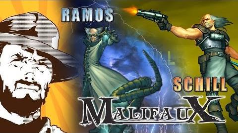 FFH Играем Malifaux Ramos vs Schill