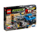 75875 Ford F-150 Raptor и гоночный автомобиль Ford