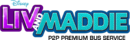 Liv and Maddie P2P Premium Bus Service logo.png
