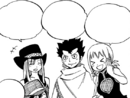 Mages cheer on Natsu and Elfman.png