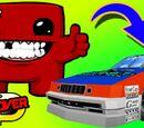 Meat Boy Visits Daytona...Connecting Super Meat Boy to Daytona USA