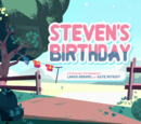 Steven's Birthday