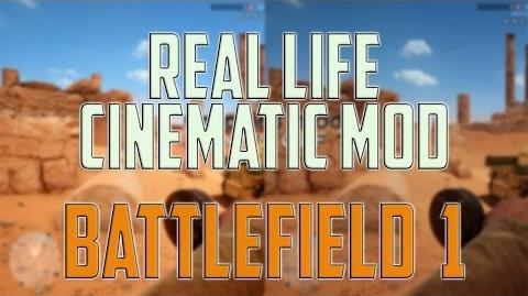 Battlefield 1 MOD - ▶ Real Life Cinematic Graphics Mod SweetFX Gameplay PC, Windows 10, 1440p
