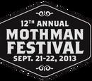 12th Annual Mothman Festival 2013
