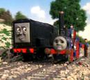 Fergus and Diesel