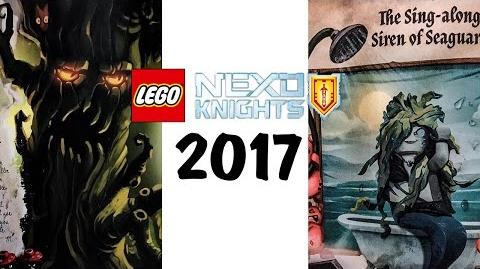 Lego NEXO Knights 2017 New Characters - The Book of Monsters