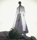 Kayaba Akihiko appearing to the fallen Kirito in ALO.png