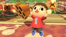 Aldeano sosteniendo un Panal de abejas SSB4 (Wii U).png