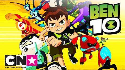 Ben 10 Poznaj kosmitów Cartoon Network