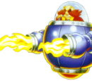 Doctor Robotnik's Flame Craft (Angel Island Zone Act 2)