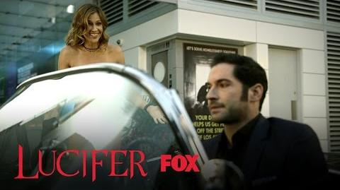 Lucifer's Mom Takes His Words Literally And Gets Naked In Public Season 2 Ep. 2 LUCIFER