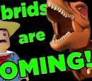 Jurassic World Hybrid Dinos ARE COMING!