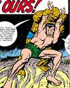 Benjamin Grimm (Earth-616) and Namor McKenzie (Earth-616) from Fantastic Four Vol 1 9 0001.jpg