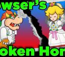 Bowser's BROKEN HOME in Super Mario