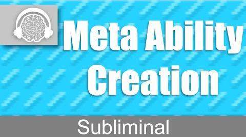 Meta Ability Creation Create Any Power You Want Subliminal-0
