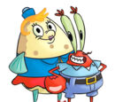 Mr. Krabs-Mrs. Puff relationship