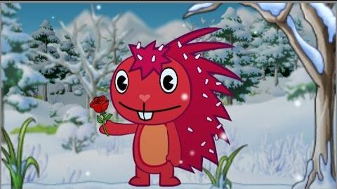 Happy Tree Frends Flaky send a Flowers !