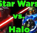 Star Wars Lightsaber Vs Halo Energy Sword