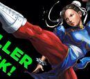 Chun-Li's DEADLY Helicopter Kick