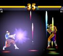 Chun-Li's Meteor Combos