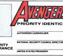 Avengers Identicard